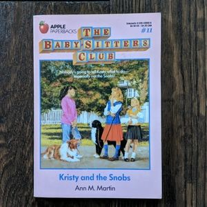 Vintage The Babysitters Club Book 11